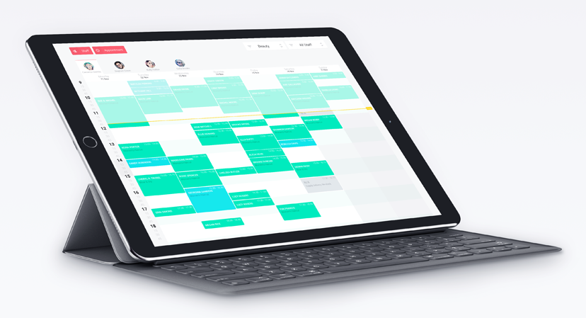 Professional appointment booking system on your iPad or a phone. Accept online bookings with Planfy.